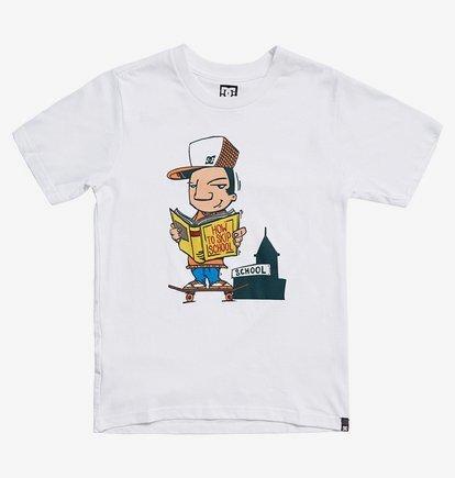 Skip School - T-shirt pour Garçon 8-16 ans - Blanc - DC Shoes