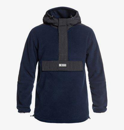 Shoreditch - Haut technique demi-zip à capuche pour Homme - Bleu - DC Shoes