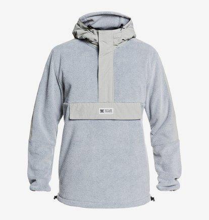 Shoreditch - Haut technique demi-zip à capuche pour Homme - Gris - DC Shoes