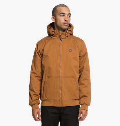 Ellis - Veste à capuche déperlante pour Homme - Orange - DC Shoes