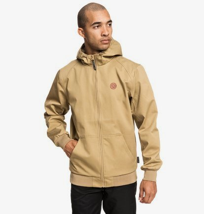 Ellis - Veste à capuche déperlante pour Homme - Marron - DC Shoes