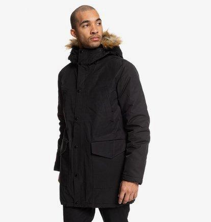 Bamburgh - Parka à capuche déperlante pour Homme - Noir - DC Shoes