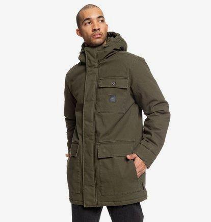 Canongate - Parka à capuche déperlante workwear pour Homme - Noir - DC Shoes