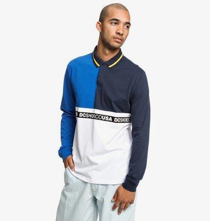 Walkley - Polo manches longues pour Homme - Bleu - DC Shoes