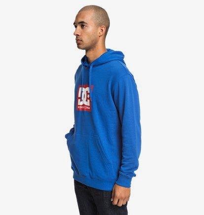 Square Star - Sweat à capuche pour Homme - Bleu - DC Shoes