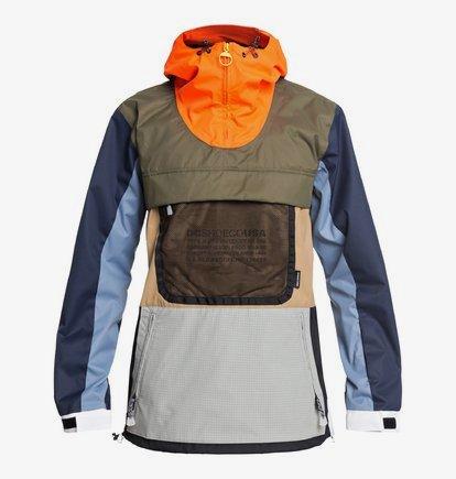 Asap Anorak - Veste de snow compactable pour Homme - Orange - DC Shoes