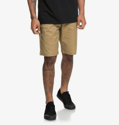 Worker 20.5 - Short chino pour Homme - Marron - DC Shoes