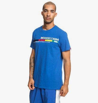 4Stripe - T-shirt pour Homme - Bleu - DC Shoes