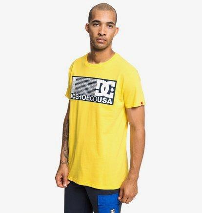 Pill Scribe - T-shirt pour Homme - Jaune - DC Shoes