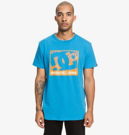On The Strength - T-shirt pour Homme - Bleu - DC Shoes