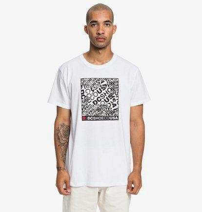 Cover Up - T-shirt pour Homme - Blanc - DC Shoes