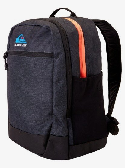 Clothing & Accessories Schoolie 30 L - Large Backpack for Boys - Black - Quiksilver