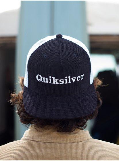 Cordon Hue - Casquette trucker pour Homme - Noir - Quiksilver