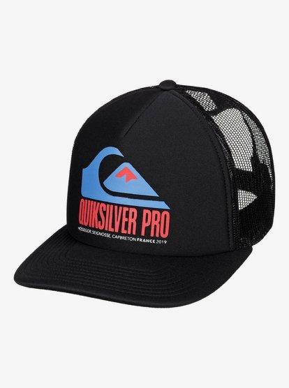 Quik Pro France - Casquette trucker pour Homme - Noir - Quiksilver