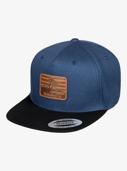 Mountain Rash - Casquette snapback pour Homme - Bleu - Quiksilver