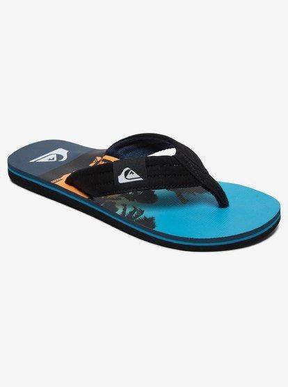 Clothing & Accessories Molokai Layback - Sandals for Men - Black - Quiksilver