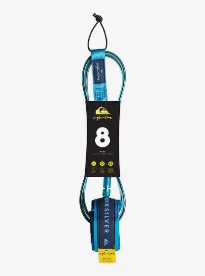 Highline - Leash de surf pour Homme - Bleu - Quiksilver