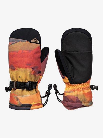 Mission - Moufles de ski/snowboard pour Garçon 8-16 ans - Rouge - Quiksilver