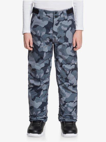 Clothing & Accessories Estate - Snow Pants for Boys 8-16 - Black - Quiksilver