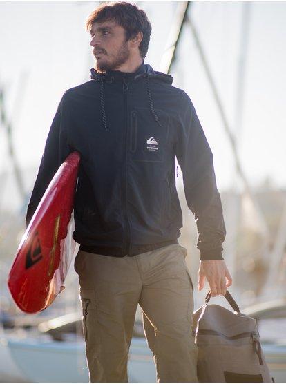 Waterman Paddle - Veste de paddle technique zippée pour Homme - Noir - Quiksilver