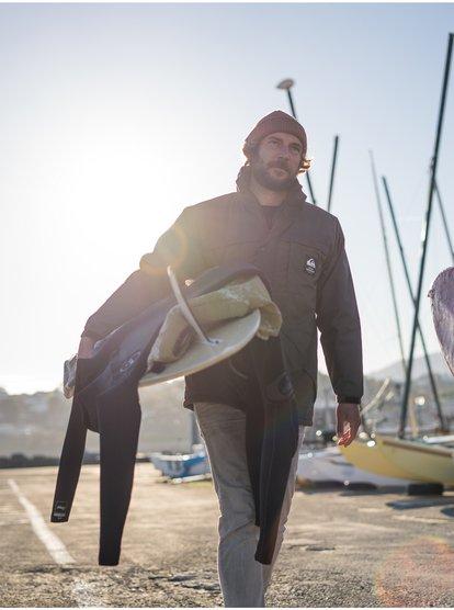 Waterman Swell Chasers - Veste déperlante pour Homme - Marron - Quiksilver