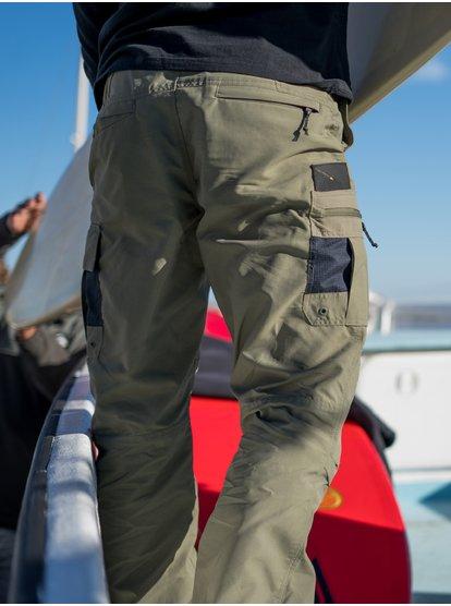 Waterman Skipper - Pantalon cargo léger pour Homme - Vert - Quiksilver