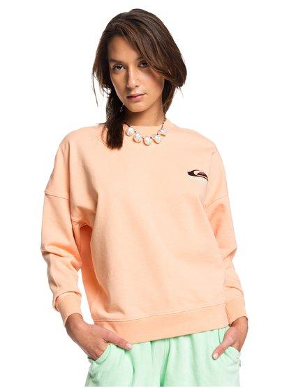 Originals-Heritage-Sweatshirt-for-Women-Orange-Quiksilver