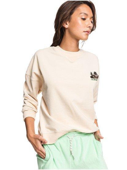 Originals-Heritage-Sweatshirt-for-Women-Beige-Quiksilver