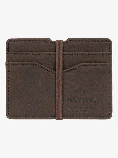 Floker - Porte-cartes pour Homme - Marron - Quiksilver