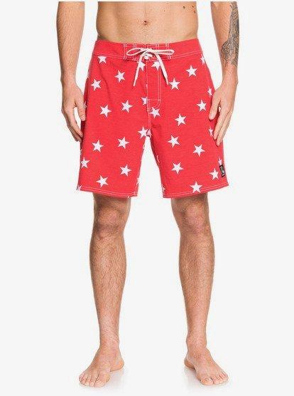 Echo Beach Star 18  - Boardshort pour Homme - Rouge - Quiksilver