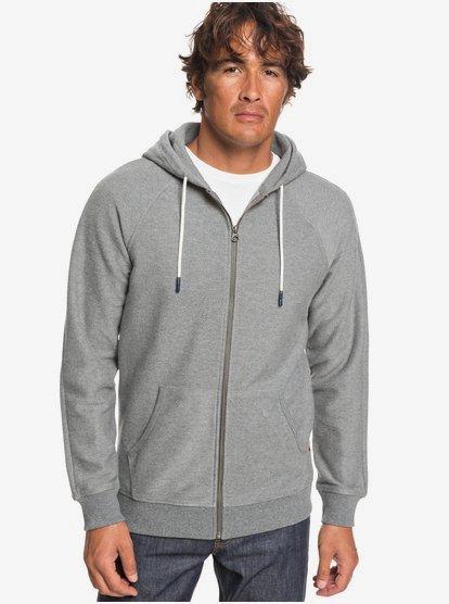 Gouf - Sweat à capuche zippé pour Homme - Gris - Quiksilver