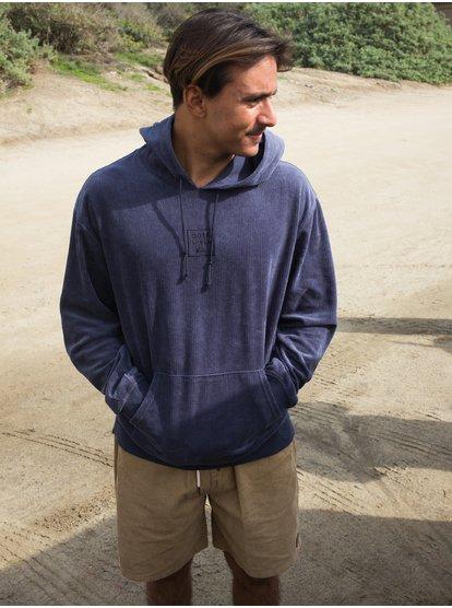 Corduroy - Sweat à capuche en velours côtelé pour Homme - Noir - Quiksilver
