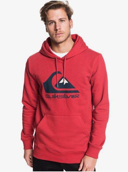 Omni Logo - Sweat à capuche pour Homme - Rouge - Quiksilver