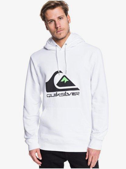 Omni Logo - Sweat à capuche pour Homme - Blanc - Quiksilver