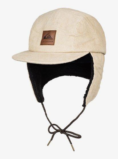 Winter - Casquette avec oreillettes en velours côtelé pour Homme - Beige - Quiksilver