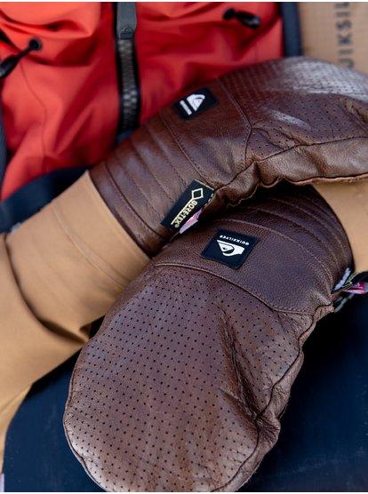 Travis Rice Natural GORE-TEX - Moufles de ski/snowboard pour Homme - Marron - Quiksilver