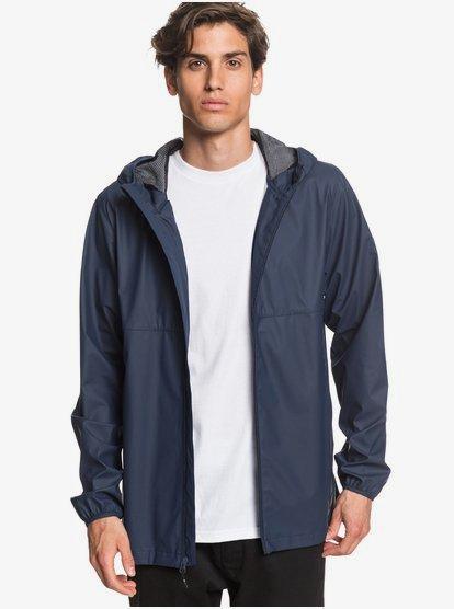 Kamakura Rains - Veste de pluie à capuche pour Homme - Bleu - Quiksilver