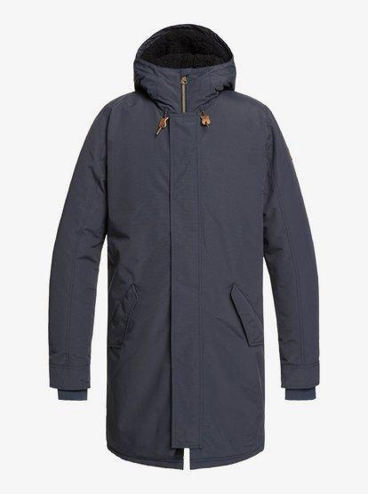 Altai - Parka à capuche imperméable longue pour Homme - Bleu - Quiksilver