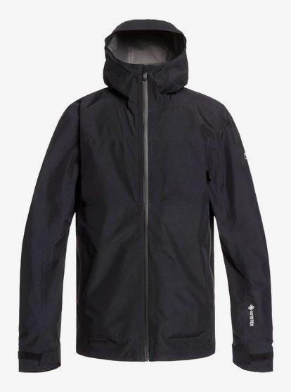Cascade GORE-TEX - Veste à capuche imperméable pliable pour Homme - Noir - Quiksilver
