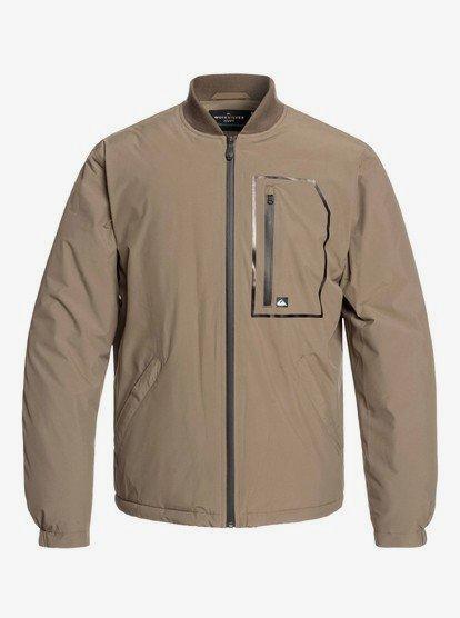Harrison - Veste zippée imperméable pour Homme - Marron - Quiksilver
