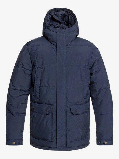 Barrington - Doudoune à capuche imperméable pour Homme - Bleu - Quiksilver