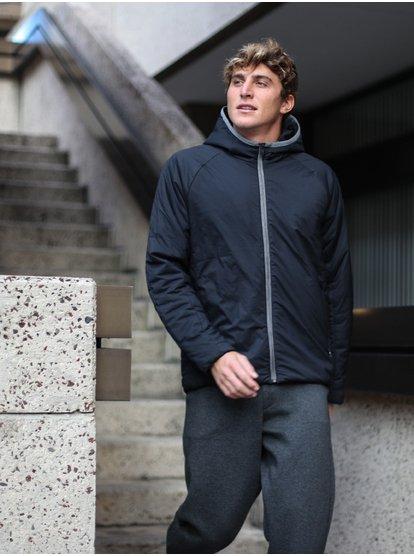 Adapt - Veste à capuche chaude pliable en duvet pour Homme - Noir - Quiksilver