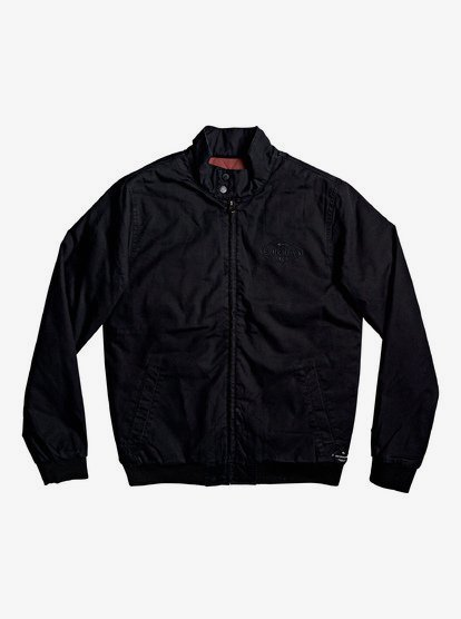 Stapilton - Veste zippée en toile pour Homme - Noir - Quiksilver