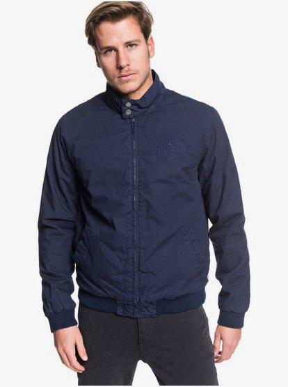 Stapilton - Veste zippée en toile pour Homme - Bleu - Quiksilver