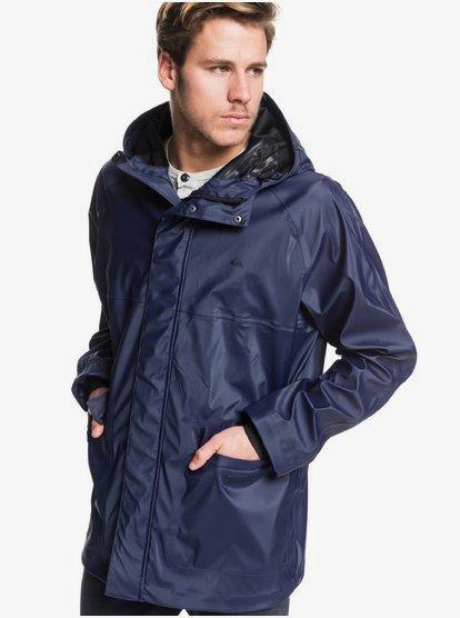 Misere - Manteau à capuche imperméable pour Homme - Bleu - Quiksilver