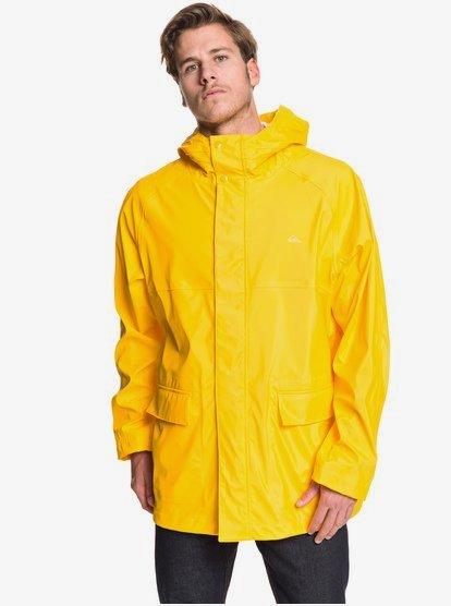 Misere - Manteau à capuche imperméable pour Homme - Jaune - Quiksilver