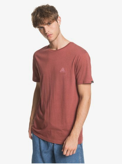 Cocal-TShirt-for-Men-Brown-Quiksilver