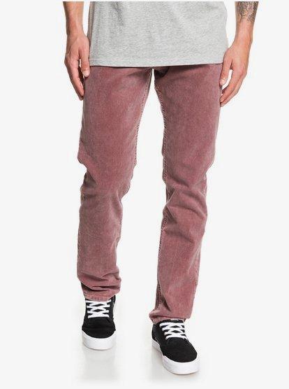 Kracker - Pantalon en velours pour Homme - Rouge - Quiksilver