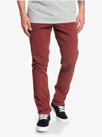 Krandy - Pantalon chino slim pour Homme - Rouge - Quiksilver