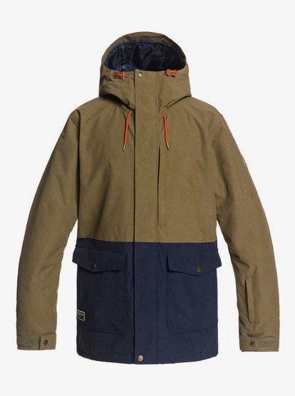 Clothing Horizon - Snow Jacket for Men - Brown - Quiksilver